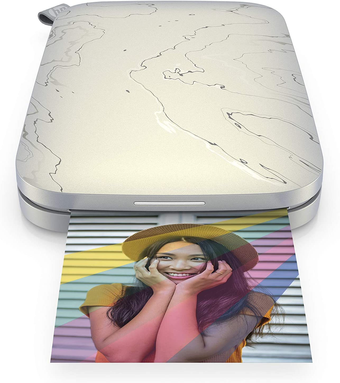 HP Sprocket Select - Impresora de Foto Zink (Sin Tinta, 321 x 600 dpi, 10 Hojas, LED, Bluetooth)