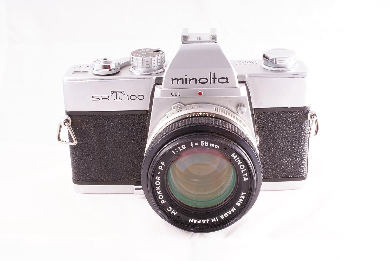 Minolta SRT-100 SLR Cuerpo de cámara Manual y Lente de 50 mm ...