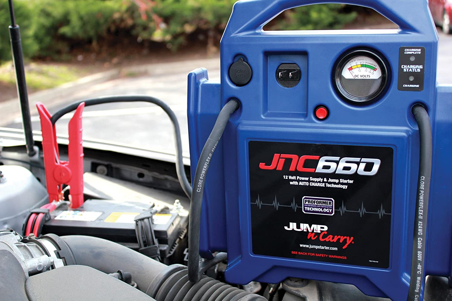 Clore Automotive Jump N Carry JNC660 Starter Image 2