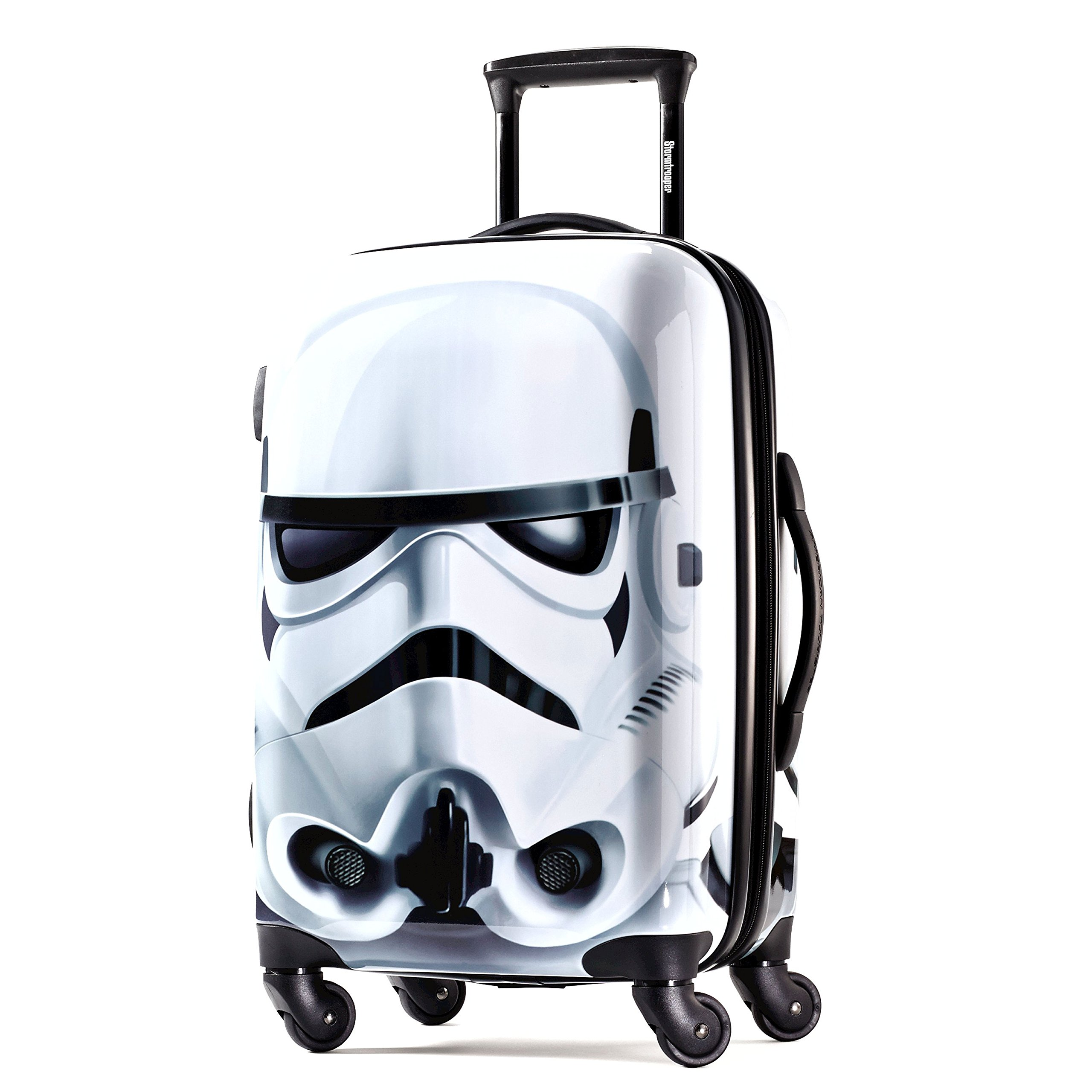 American Tourister Star Wars 21 Inch Hard Side Spinner, Storm Trooper, One Size