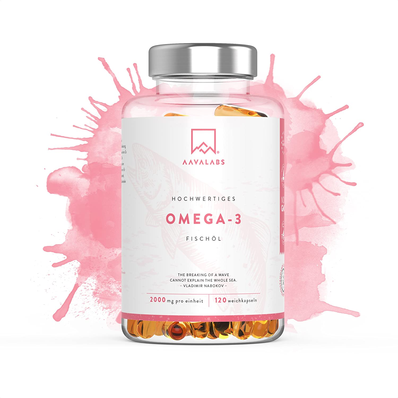Aava Labs Omega 3 Fischöl