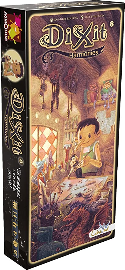 Asmodee Italia 8012 – Dixit 8 Harmonies Edición Italiana: Amazon.es: Juguetes y juegos
