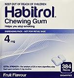 Habitrol Nicotine Gum 4mg Fruit Flavor. 4 bulk