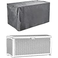 "Patio Deck Box Cover to Protect Large Deck Boxes 52""L x 26""W x 26""D"