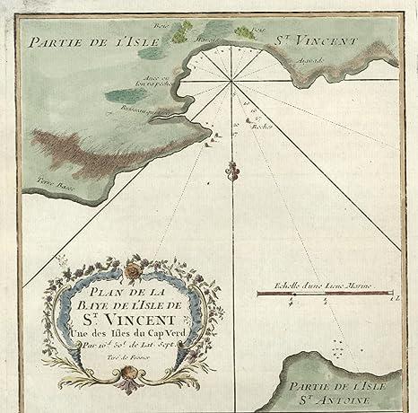 Amazon.com: St. Vincent Cape Verde Islands Africa Portuguese ...