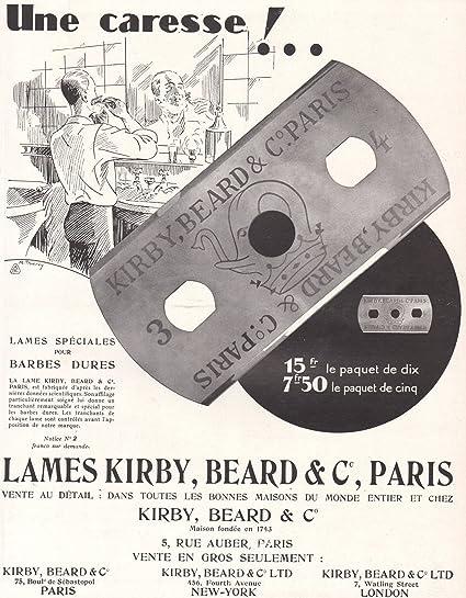 Amazon.com: 1929 AD Impresión de afeitado Cuchillas Kirby ...