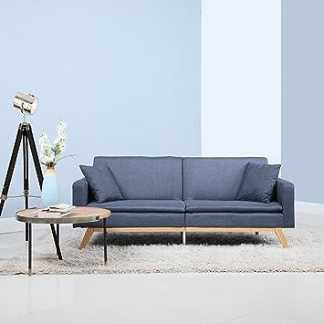 Modern Tufted Linen Splitback Recliner Sleeper Futon Sofa (Dark Grey) & Amazon.com: Modern Tufted Linen Splitback Recliner Sleeper Futon ... islam-shia.org