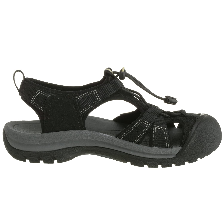 KEEN Women's Venice H2 Sandal B000MW0LOQ 5 B(M) US|Black
