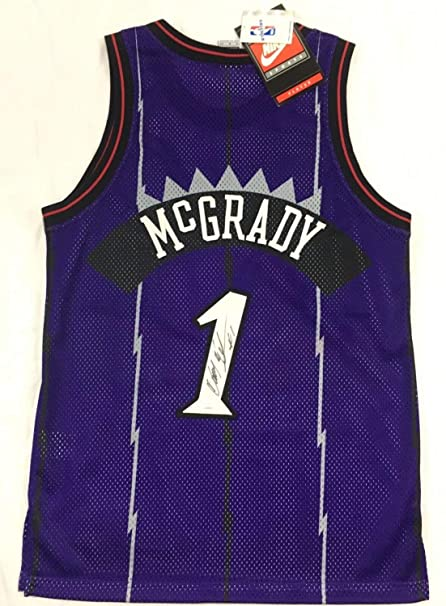 new product febf9 c4fb8 Tracy Mcgrady Autographed Signed Toronto Raptors Authentic ...