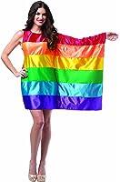 Rasta Imposta Women's Flag Dress Rainbow