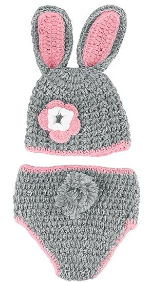 Y-BOA - Déguisement Bébé Costume - Animaux - Bonnet Crochet- 3~6 ... fcba0f5e7a2