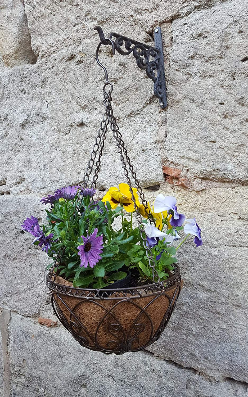 Blumenampel Kokoseinlage Kokoseinsatze 3 Stck Hanging Basket 40