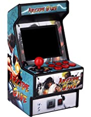 Golden Security Mini Arcade Game Machine RHAC01 2.8Inch 156 Classic Handhold Games Portable Machine for Kids with Eye-Protected Screen