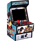 Mini Arcade Game Machine RHAC01 2.8Inch 156 Classic Handheld Games Portable Machine for Kids with Eye-Protected Screen Golden