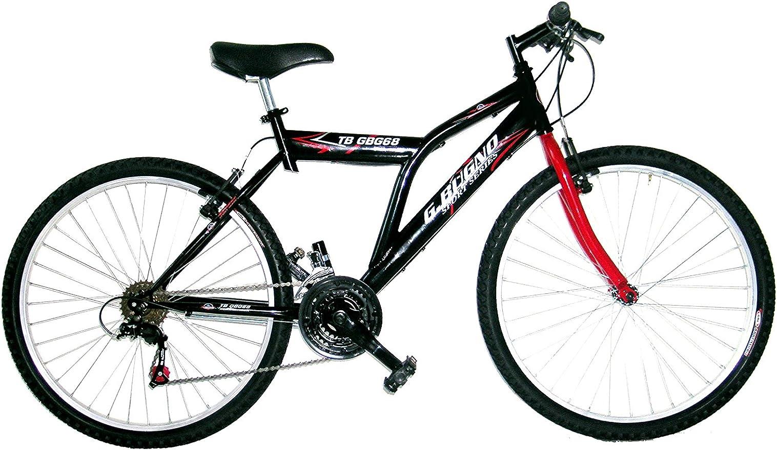 Bugno Bicicleta Btt Negro/Rojo: Amazon.es: Deportes y aire libre
