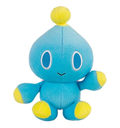 Amazoncom Sonic Modern Chao Collector Plush Blue Toys Games