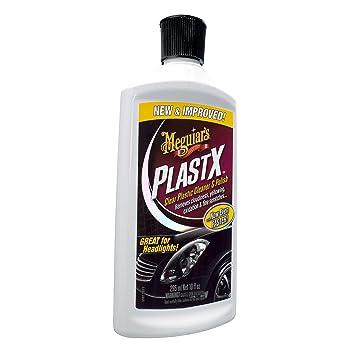 Meguiars G12310 PlastX Clear Plastic Cleaner & Polish, 10 Fluid Ounces