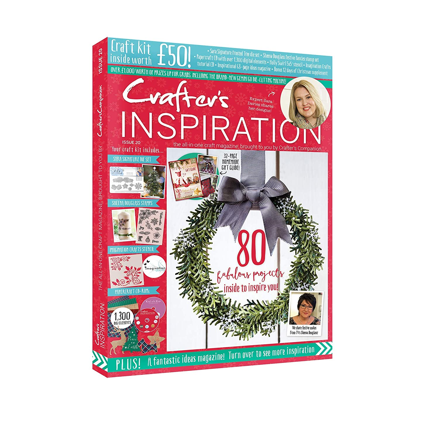 Crafter s Inspiration Issue 20 Multi A4 Amazon Kitchen & Home