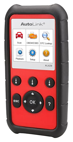 Autel Autolink AL629 has a built-in DTC lookup library, so the scanner will define the retrieved code for better interpretation and analysis.