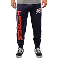 unk NBA 男式慢跑裤 Active 基本款软毛巾运动裤,队徽颜色