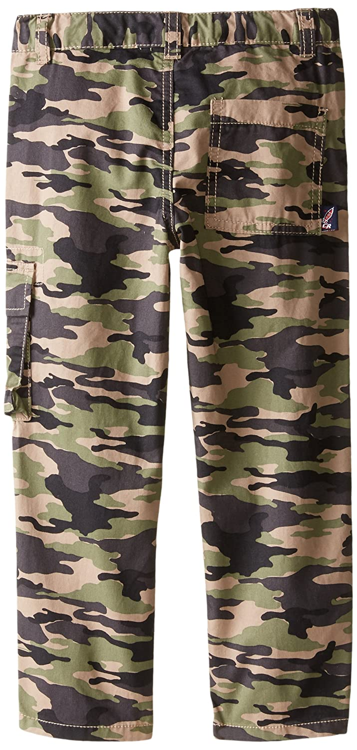 Charlie Rocket Little Boys Printed Camo Twill Pant
