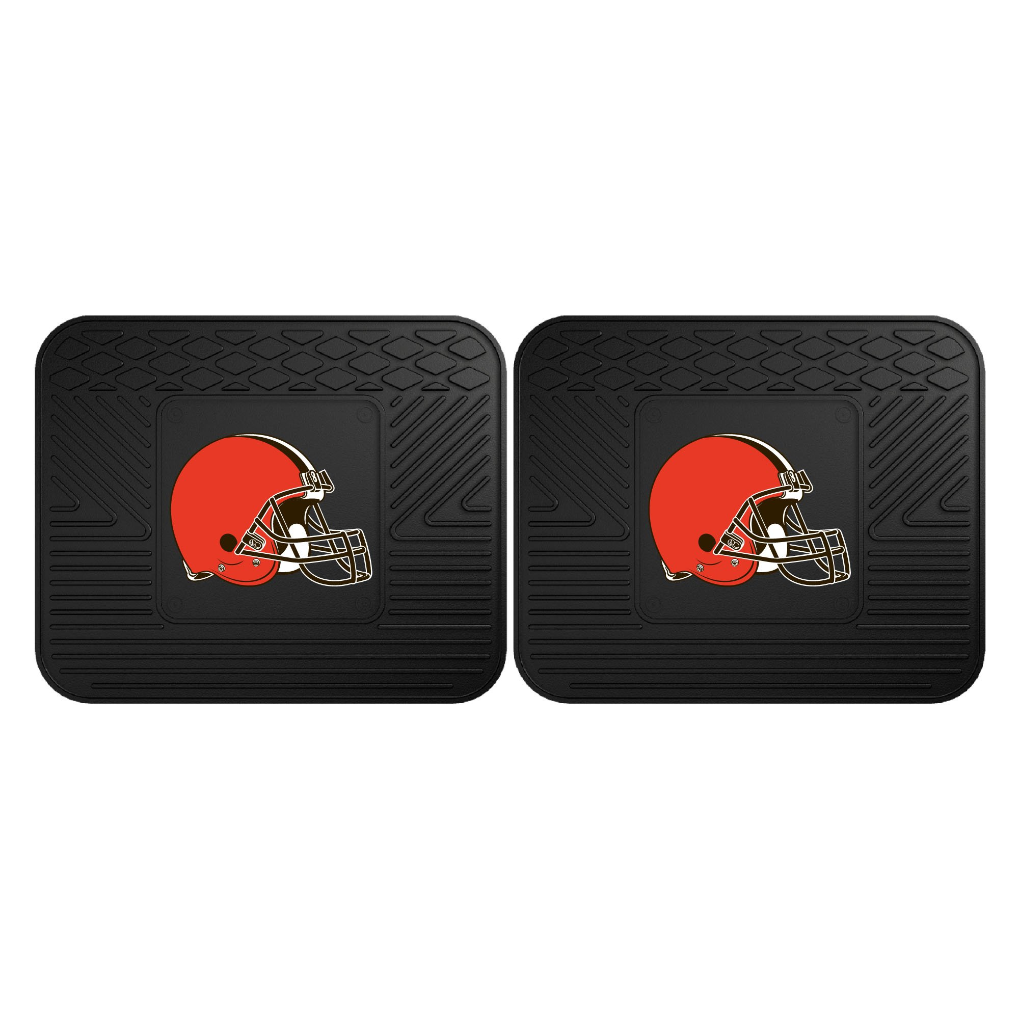 Fanmats 12354 NFL - Cleveland Browns Utility Mat - 2 Piece