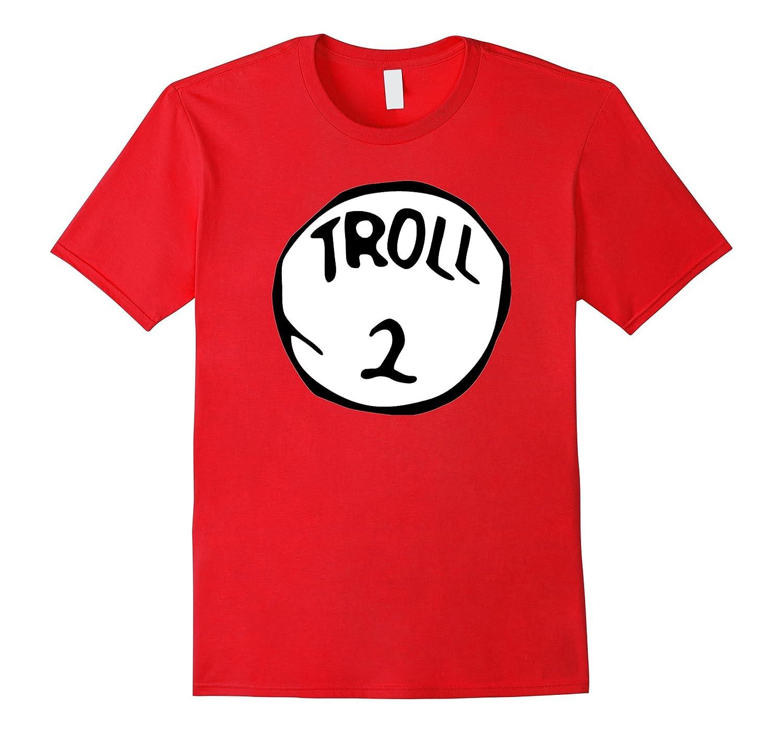 Troll 2 Monster Ogre Goblin Scary Halloween Costume T-Shirt-TH