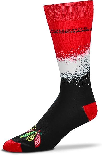 For Bare Feet Mens NHL 4-Square Mismatch Dress Socks