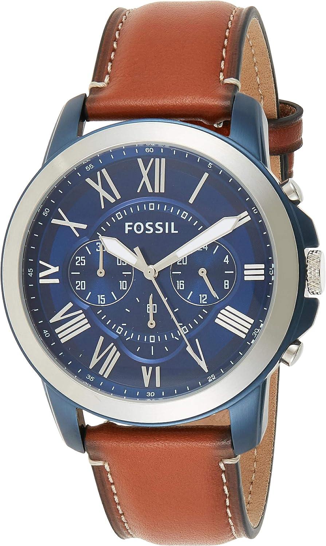 ejemplo de reloj para hombre fossil