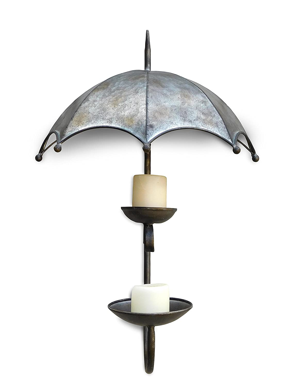 Jpd Plants Harville Wall Mounted Umbrella Candle Holder Amazon Co