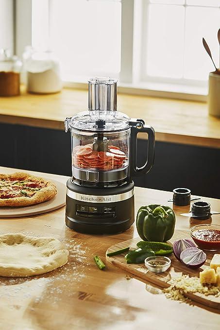 KitchenAid 7 tazas procesador de alimentos Chop, puro, triturado y rebanada: Amazon.es: Hogar