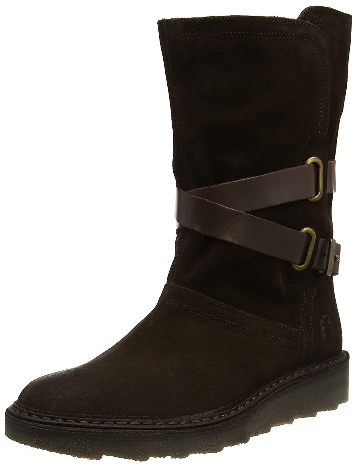 Fly London Army955fly, Botas para Mujer Marrón (Expresso/Dk Brown)