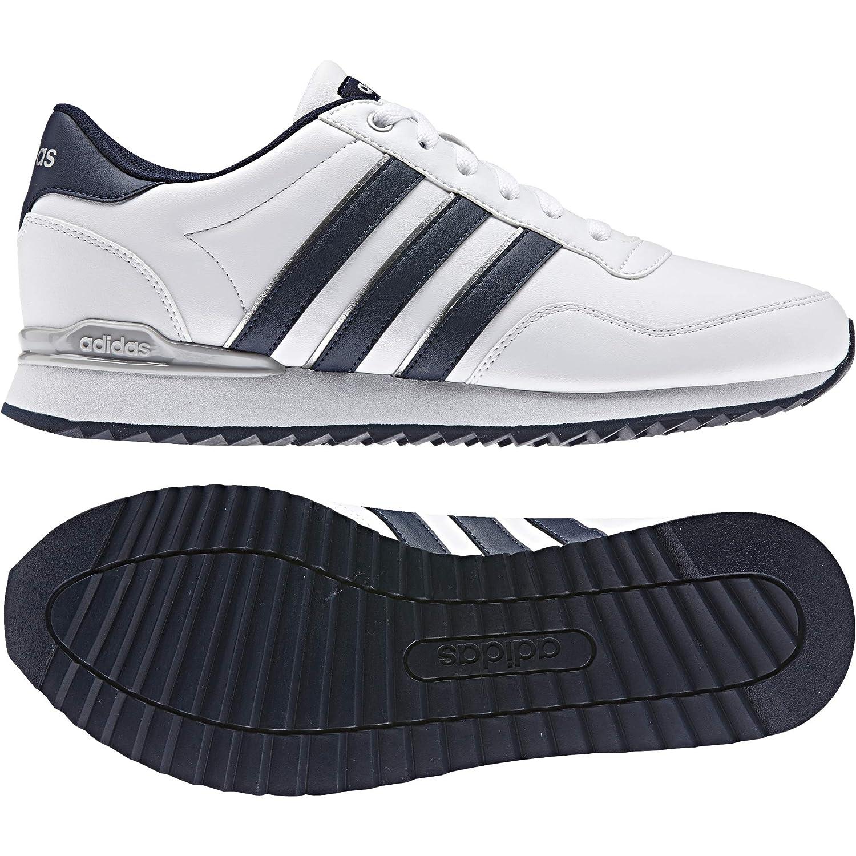 adidas Jogger Cl, Scarpe da Ginnastica Uomo, Bianco (Ftwbla