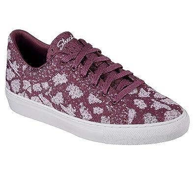 außergewöhnliche Auswahl an Stilen verschiedene Farben Geschäft Skechers Womens Vaso - Knit Lace-up Sneaker