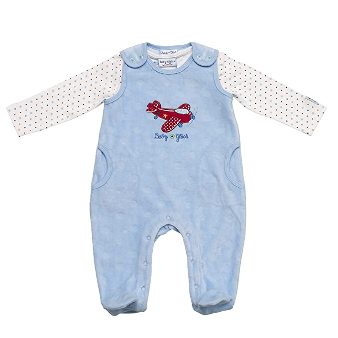 Salt and Pepper BG Playsuit Nicki Allover, Pelele Unisex bebé, Azul (Light Blue), 62 cm: Amazon.es: Ropa y accesorios