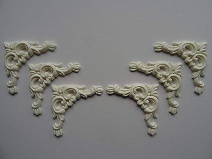 Amazon decorative ornate corner scrolls applique onlay