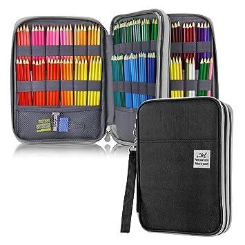 Amazon.com: YOUSHARES 192 Slots estuche para lápices: Arte ...