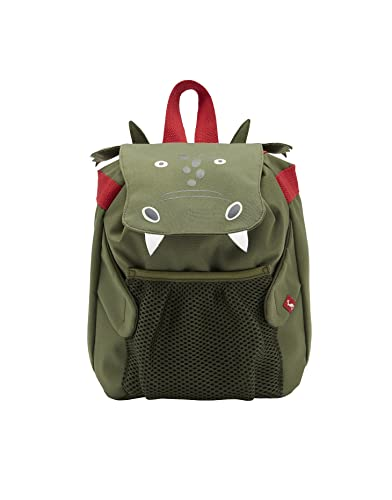 fd825d9a39e0 Joules Junior Buddie Boys Shark Backpack One Size Green Dragon ...