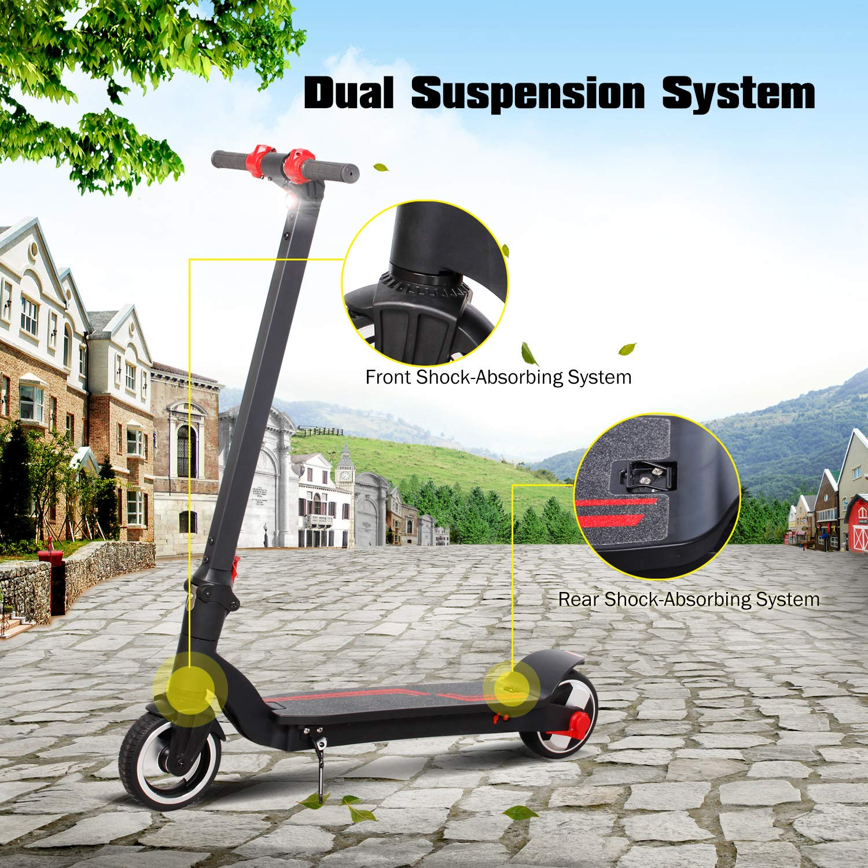 Amazon.com: Scooter eléctrico 10-15 Mph & Range 8-15 Miles 7 ...