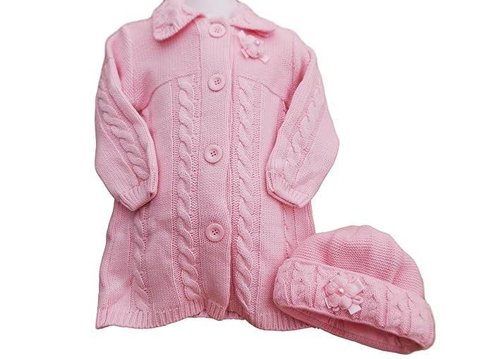 Baby Wear - Abrigo - para niña rosa rosa 2 Año