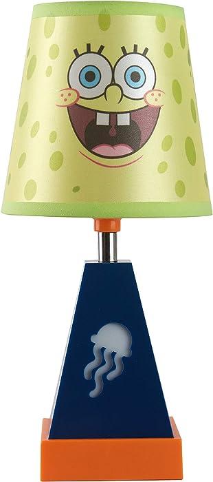 Nickelodeon Spongebob 2 in 1 Lamp with Night Light