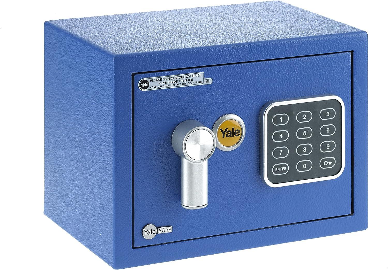 Yale yysv/170/DB1/B Caja de Seguridad a Mobile, Azul, XS: Amazon ...