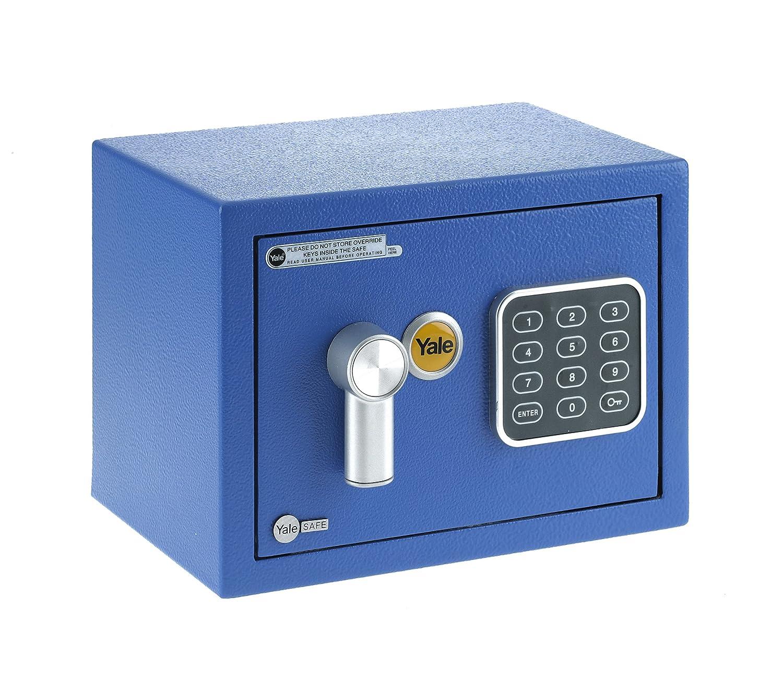 Yale YYSV/170/DB1/B Cassetta di Sicurezza a Mobile, Blu, XS