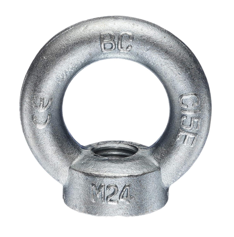 M20 M12 M16 M24 verzinkte Ausf/ührung M8 Augenmutter nach DIN 582 /Ösenmutter M10 Transportmutter C15E, M12 Gr/ö/ßen M6 BIAT /® Ringmutter//Ringmuttern