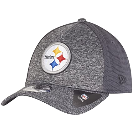 buying new designer fashion for whole family New Era 39Thirty Cap - SHADOW Pittsburgh Steelers graphite: Amazon ...