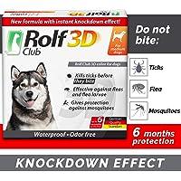 Rolf Club 3D FLEA Collar for Dogs - Flea and Tick Prevention for Dogs - Dog Flea and Tick Control…