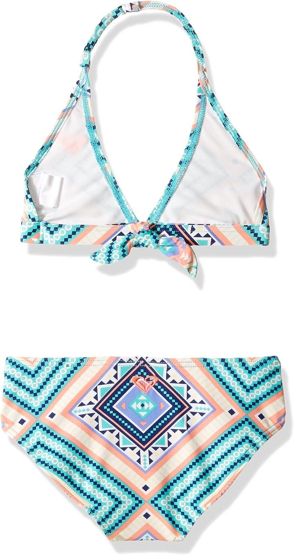 Roxy Big Girls Hippie College Halter Set Two Piece Swimsuit