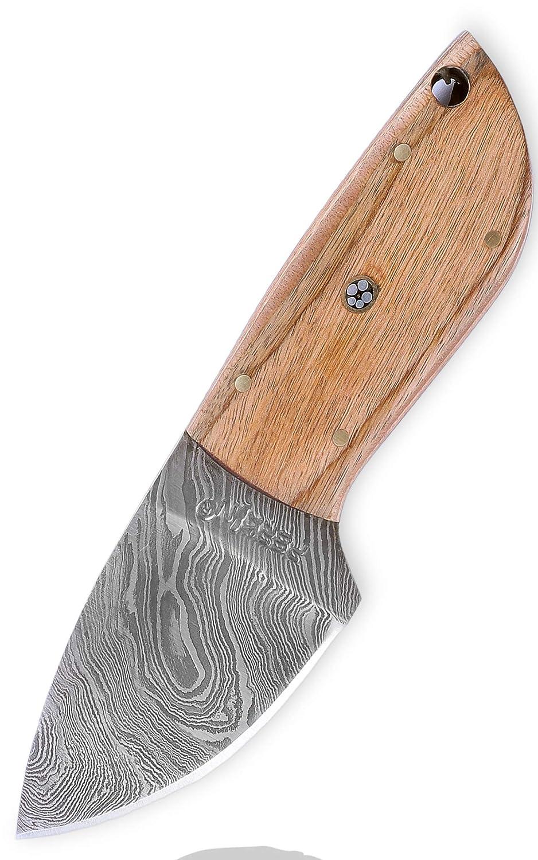 Perkin Knives - Cuchillo (acero de Damasco)