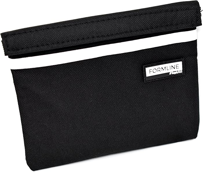 Formline Smell Proof Bag (7x6 inches) with Double the Odor Proof Technology - Scent Proof Pouch Eliminates All Scents. Perfect for Travel and Easily fits into Backpack or Purse