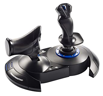 Thrustmaster T.FLIGHT HOTAS 4 - Joystick - PS4 y PC - Mando de potencia